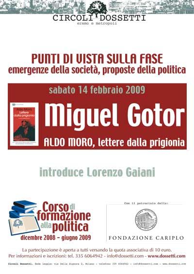 Miguel Gotor. Aldo Moro, lettere dalla prigionia.