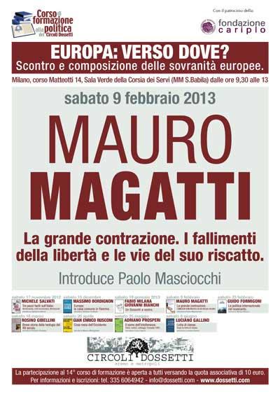 Mauro Magatti. La grande contrazione. I fallimenti della libertà e le vie del suo riscatto.