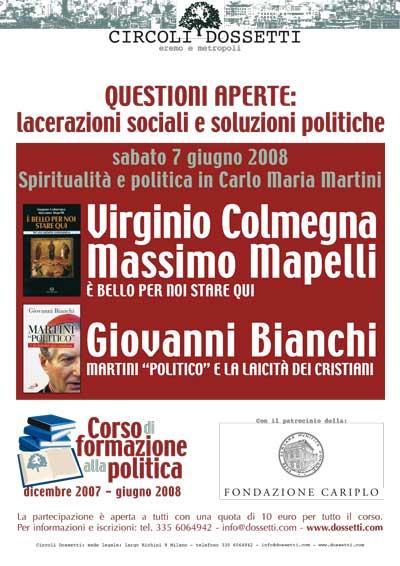 Spiritualità e politica in Carlo Maria Martini.