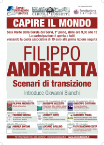 Filippo Andreatta - Scenari di transizione