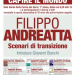Filippo Andreatta. Scenari di transizione.