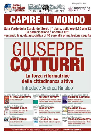 Giuseppe Cotturri: la forza riformatrice della cittadinanza attiva