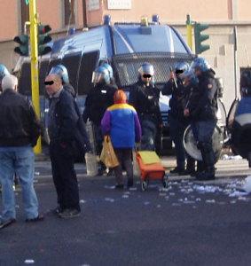 Milano, sgomberi case al Corvetto
