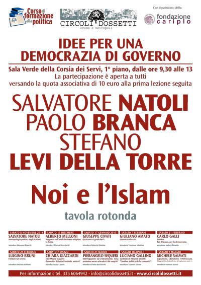 Noi e l'Islam. Tavola rotonda con Salvatore Natoli, Paolo Branca, Stefano Levi Della Torre