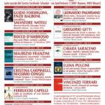 Locandina con il programma del Corso di Formazione alla politica 2017-2017