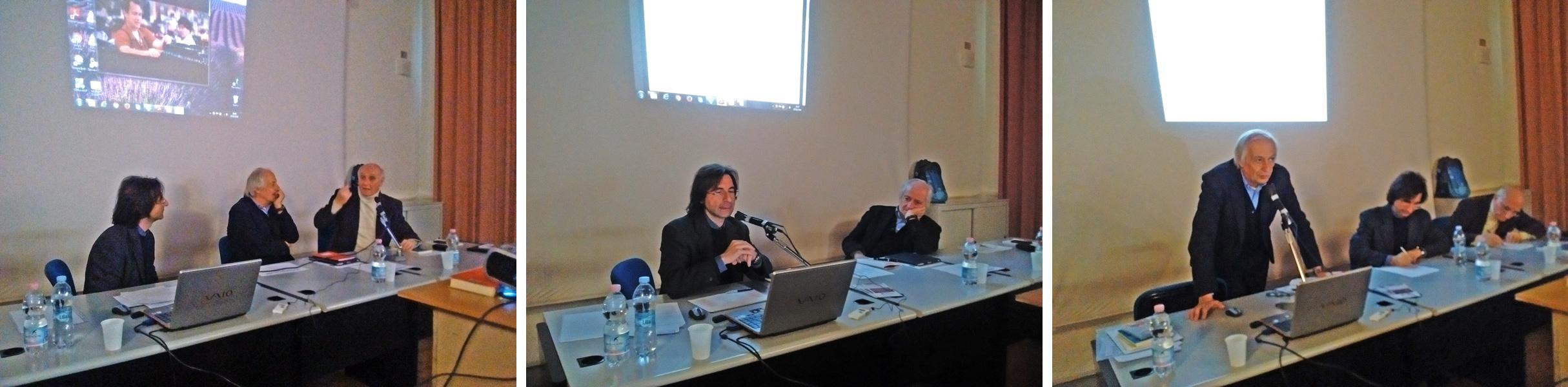 Giovanni Bianchi, Vincenzo Sabatino e Maurizio Franzini