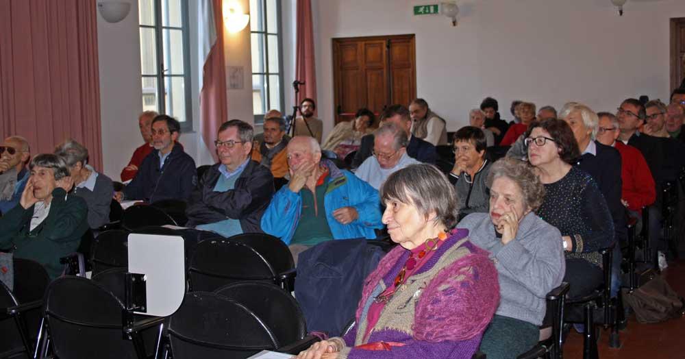 il pubblico in sala (foto Enrico Leoni)