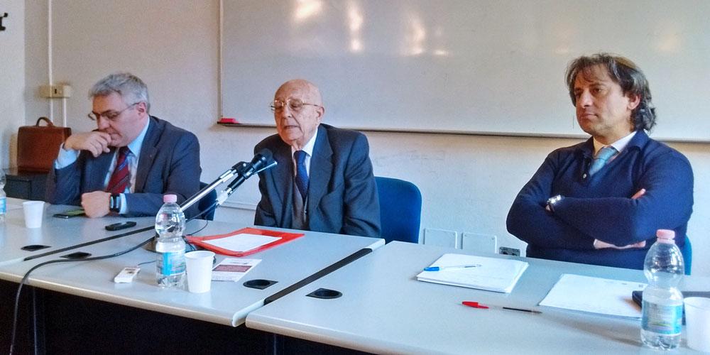 Lorenzo Gaiani, Sabino Cassese, Luca Caputo