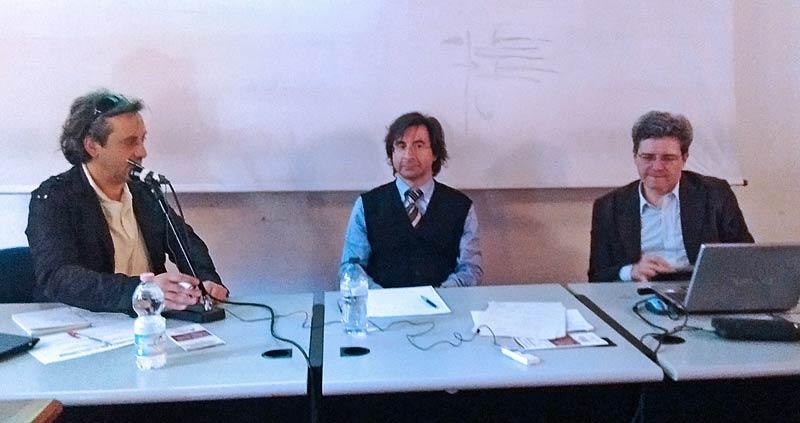 Luca Caputo, Vincenzo Sabatino, Enrico Minelli