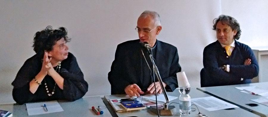 Marica Mereghetti, mons. Antonino Raspanti, Luca Caputo