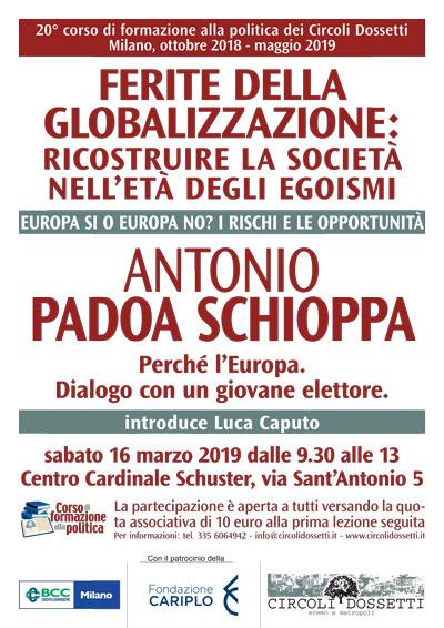 Europa sì o Europa no? Antonio Padoa Schioppa: Perché l'Europa. Dialogo con un giovane elettore.