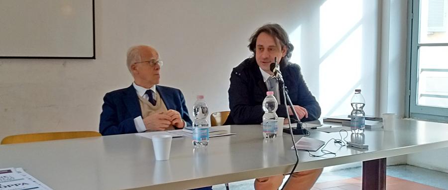Antonio Padoa Schioppa e Luca Caputo