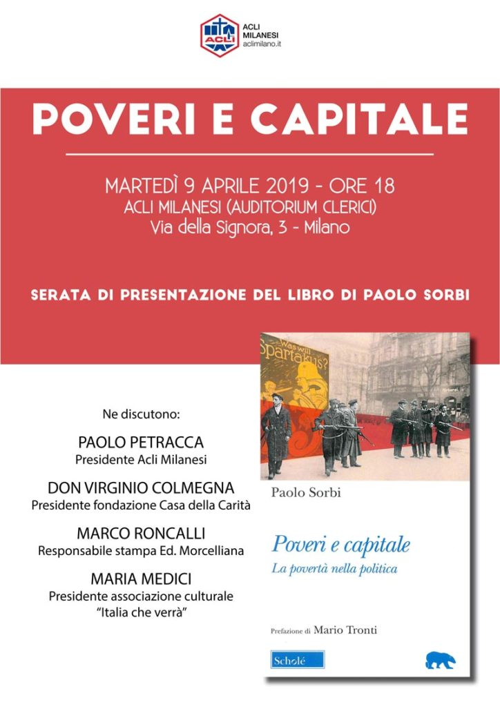 Paolo Sorbi - Poveri e capitale - copertina