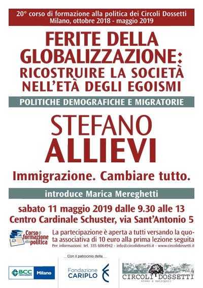 Stefano Allievi. Immigrazione, cambiare tutto