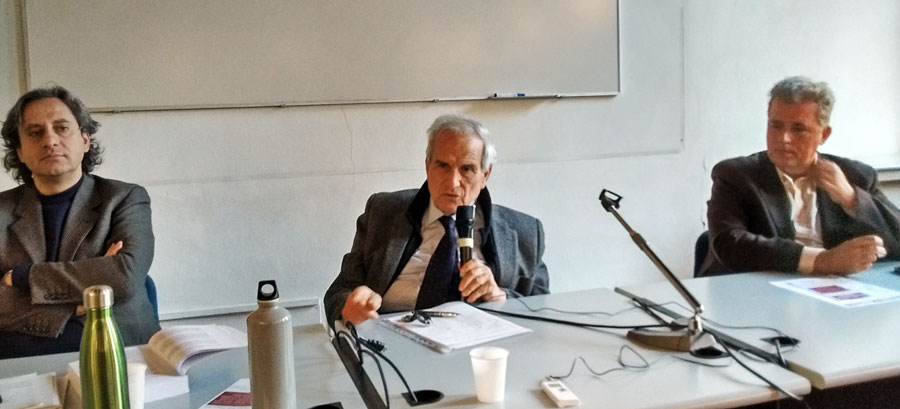Luca Caputo, Salvo Andò, Stefano Guffanti