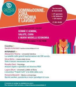 Demos Milano: donne e uomini, salute, cura e nuovi modelli di economia